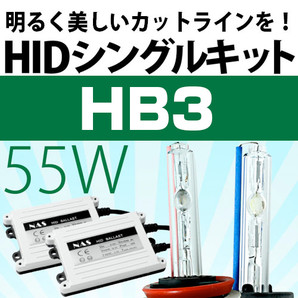 HIDシングルキット 12V 55W HB3